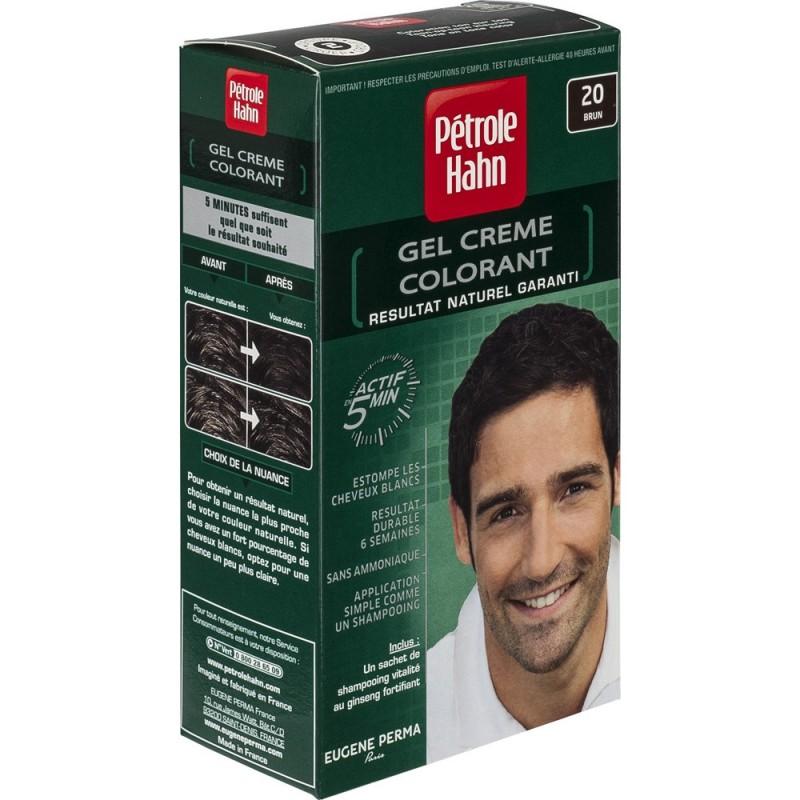 Боя за коса за мъже тъмно кафяво 20