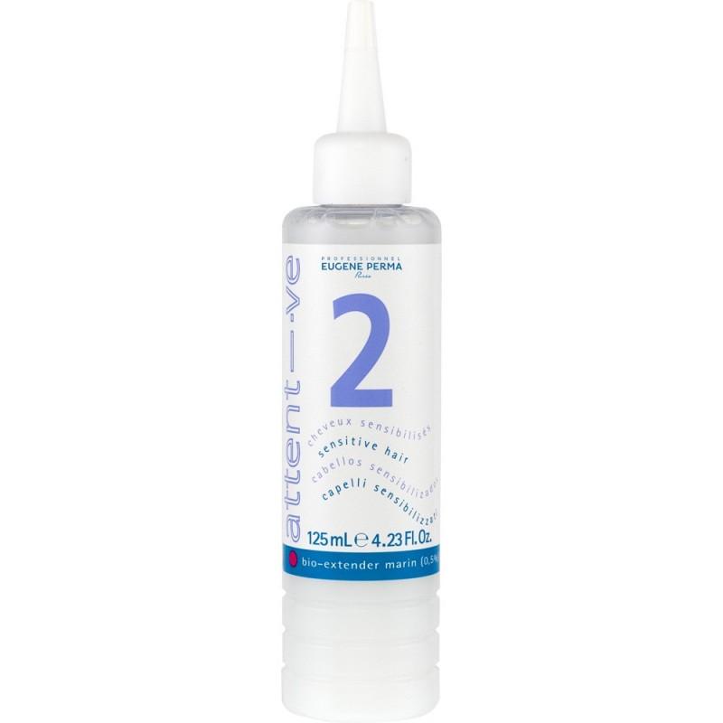 Attentive 2 амонячен къдрин за чувствителна коса 125 мл