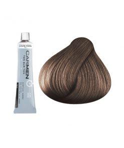 Carmen Men - мат боя за коса и бради - кафявo 60 мл