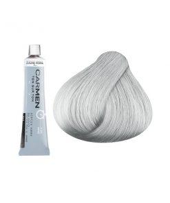 Carmen Men - мат боя за коса и бради - сиво 60 мл