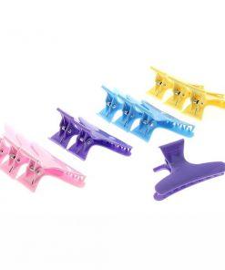 Щипки за коса различни цветове 12 бр.