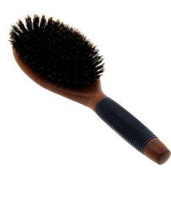 Плоска четка с естествен косъм