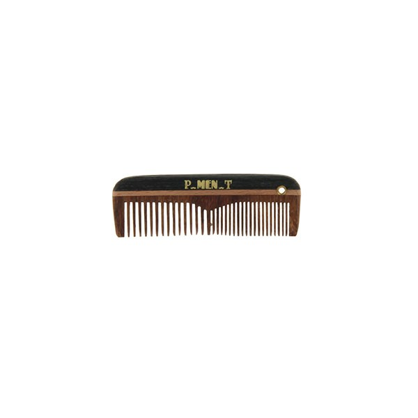 Мини гребен за брада и мустаци 7,5 см