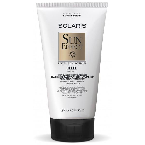 Solaris Sun Effect Прогресивно изсветляващо косата желе 150 мл