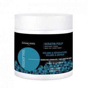 Essentiel Keratin Pulp - балсам за възстановяване на фина коса 500 мл
