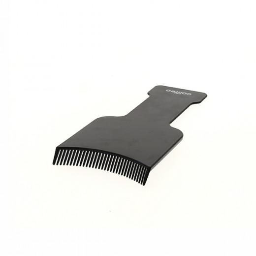 Подложка за кичури със зъбци-черна