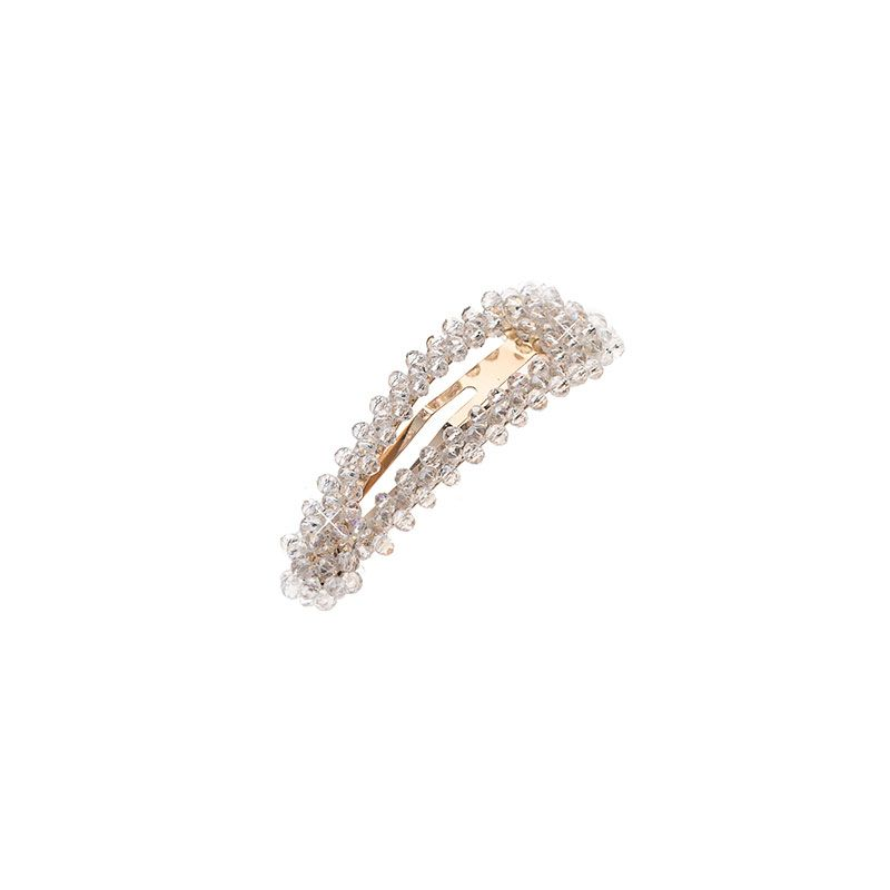 Шнола с бял кристал 8 см