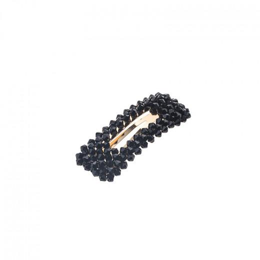 Правоъгълна шнола с черен кристал