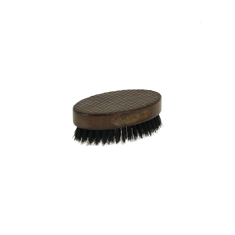 Овална дървена голяма четка за брада