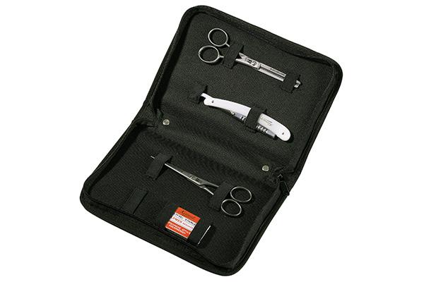 Калъф за ножици и бръснач