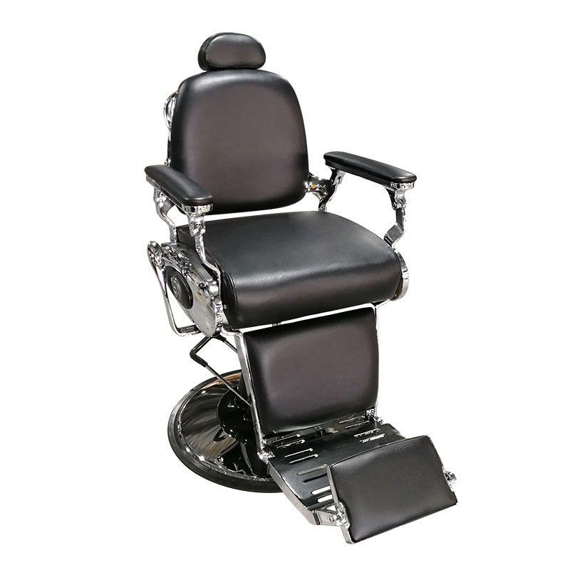 "Бръснарски стол ""Vintage"" черен"