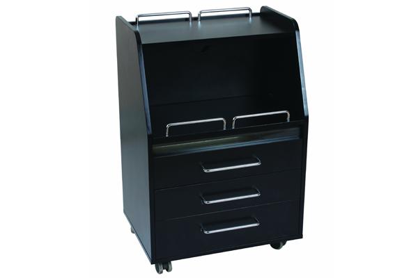 Бръснарски шкаф с UV чекмедже