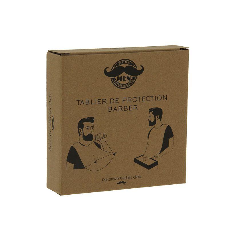 Защитна престилка при бръснене и подстригване
