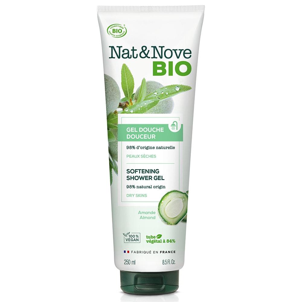 Nat&Nove BIO Омекотяващ душ гел 250 мл