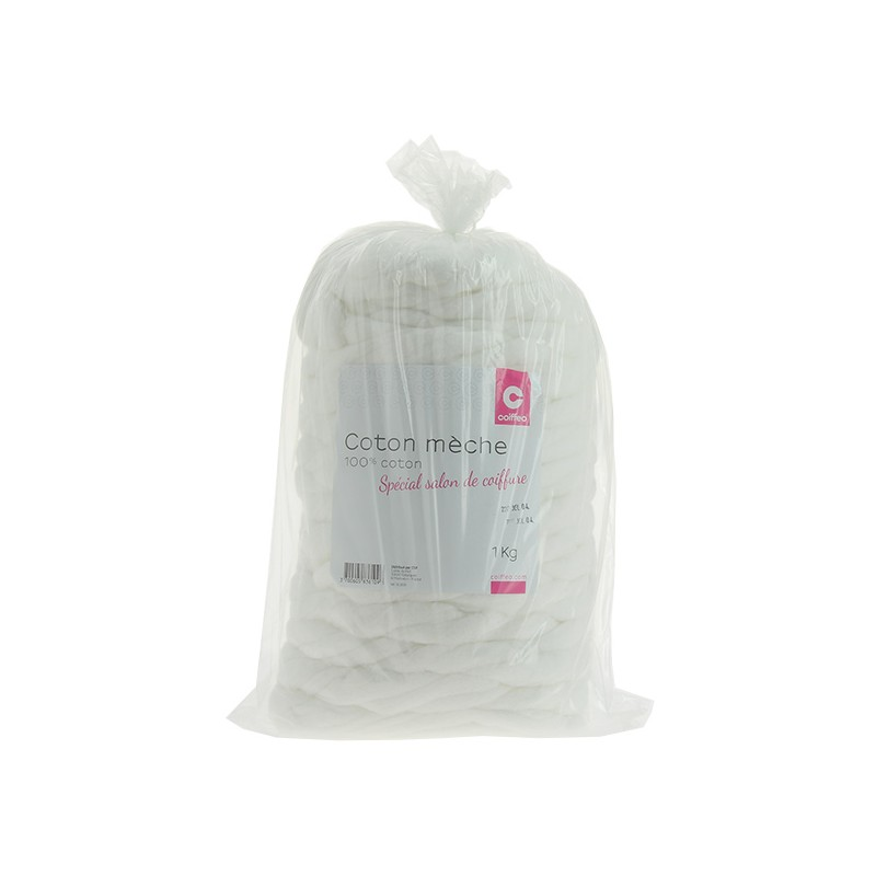 Фризьорски памук 100% на фитили 1 кг